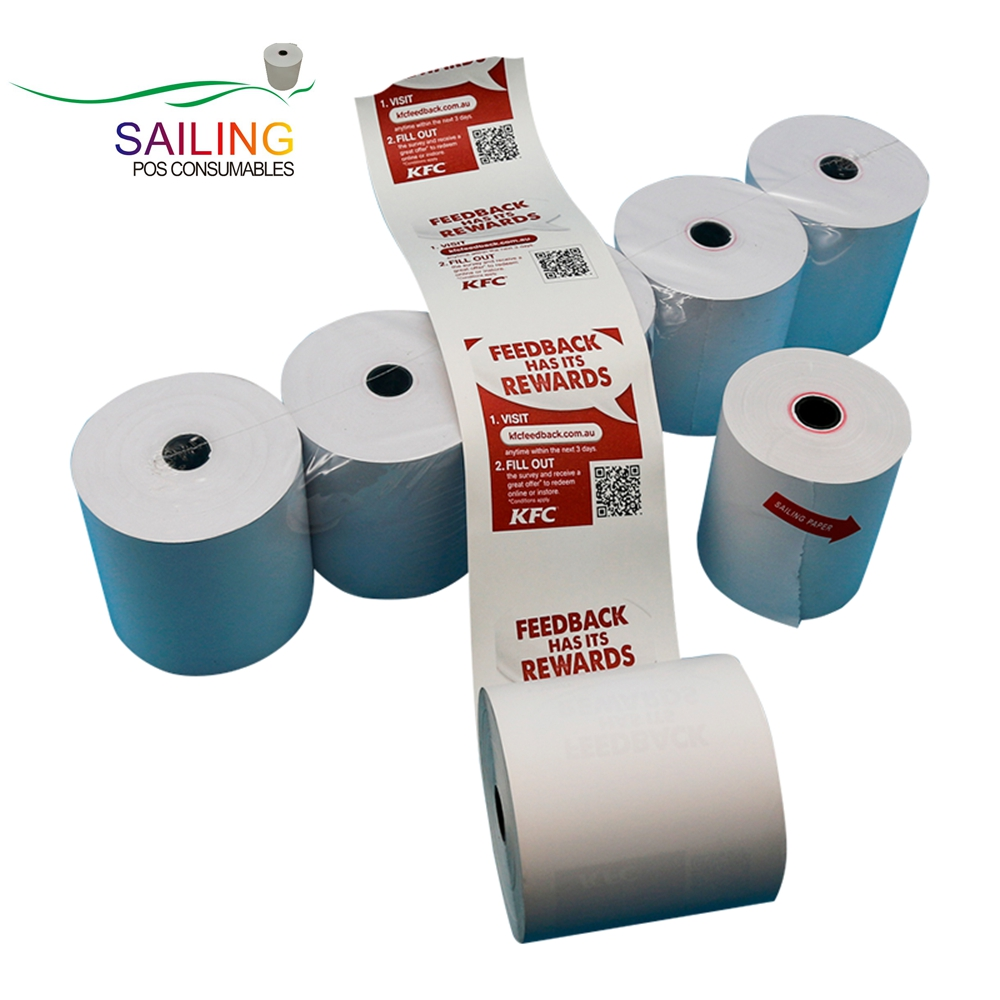 premium quality thermal till <strong>rolls</strong> 80X80mm thermal paper <strong>rolls</strong>