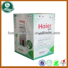 5-ply strong corrugated carton box for water heater electrical equipment