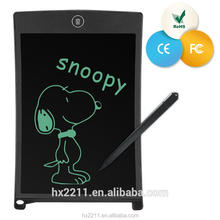 2017 DIY howshow electronic writing board lcd new design paperless environmental-friendly 8.5 inch message pad/lcd drawing board