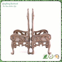 Custom Home Decor Bookend Cast Iron Chair Design Bookend