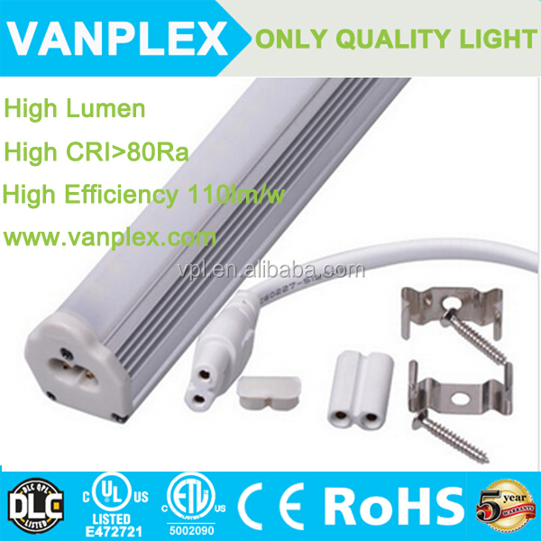 PC cover 9w t8/t5 integrated led light high lumen janpese led tube t8 made in China
