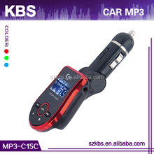 High Quality Car Mp3 Mp4 Mp5 Fm Transmitter Support MP3/WMA/ASF Format Music