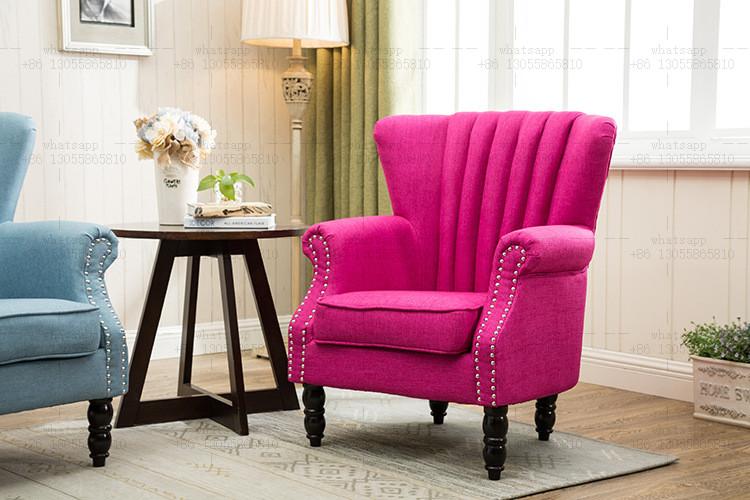 Danxueya American Style Lobby Chair/ Lounge Chair/ Banquet Wood Sofa ...