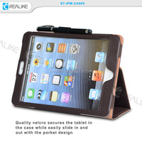 Folio Flip Handstrap Holder Wallet Leather Case For ipad mini 3,for ipad mini 3 wallet case