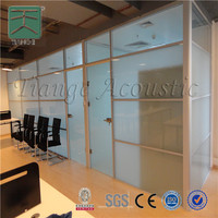 Fireproof wood door used partition material decorative