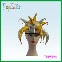 2015 New Factory Direct Sale Funny Carnival Hat with Horn and Bell