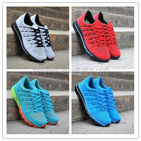 Brand style 2016 new running sports shoes cheap max running shoes men and women for free shipping