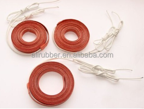 Silicone Heater,Flexible Heating Element/Strip/Belt 15X4200mm,400W 220V