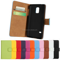Colorful wallet leather case for Samsung S5 Mini, for samsung galaxy s5 mini