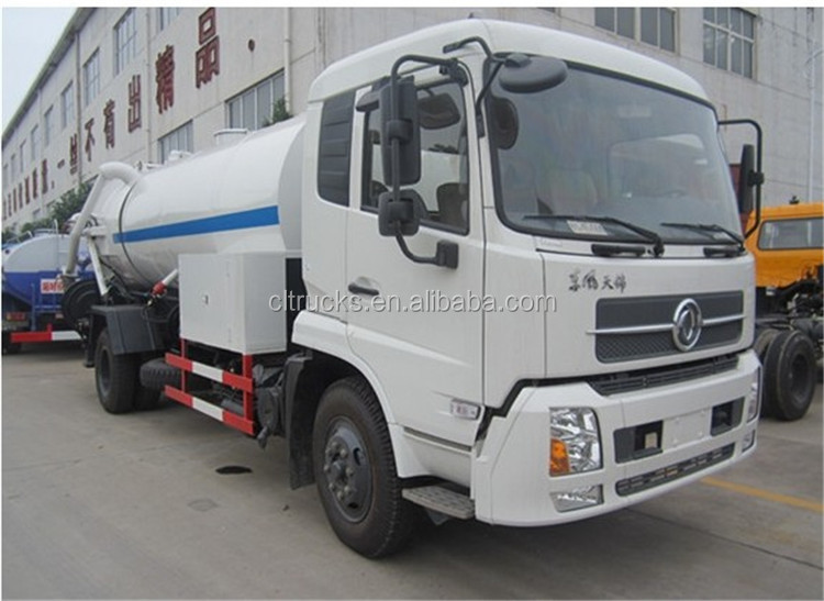 Top quality professional best quality sewage transport truck
