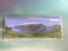 Norway fjord tourist souvenir fridge magnet type tin fridge magnet/metal fridge manget