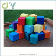 China manufacture promotion gift toy simple exceptional, educational toys wooden block for kid