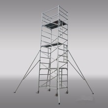 Aluminium mobile Scaffoldings for installation and construction