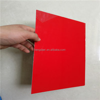 two layers engraving plastic laminate double color board