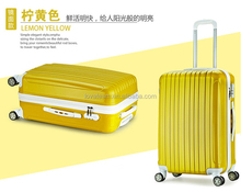 semi-finished abs pc luggage