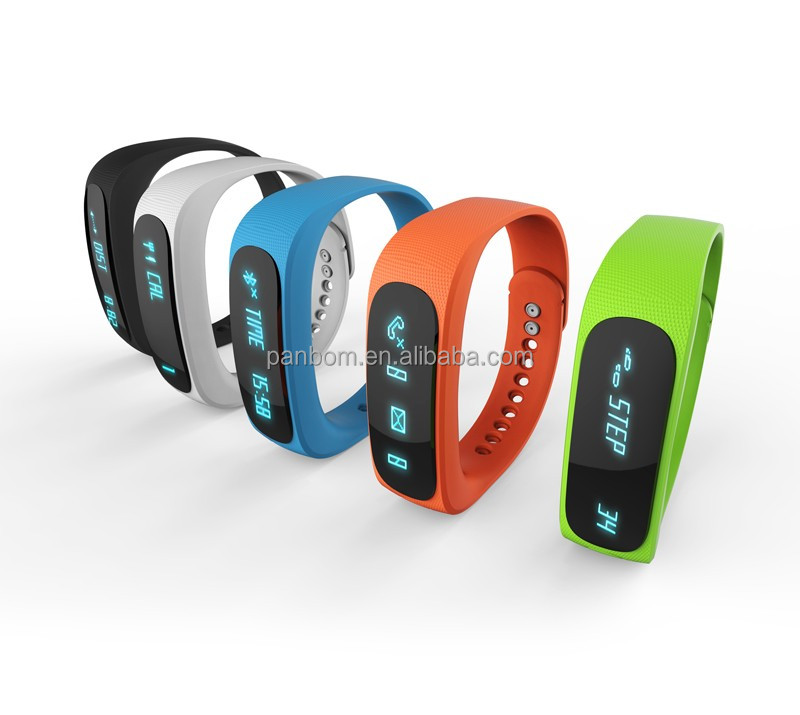 Smart bluetooth vibrating bracelet with caller id and phone number for ipone andriod