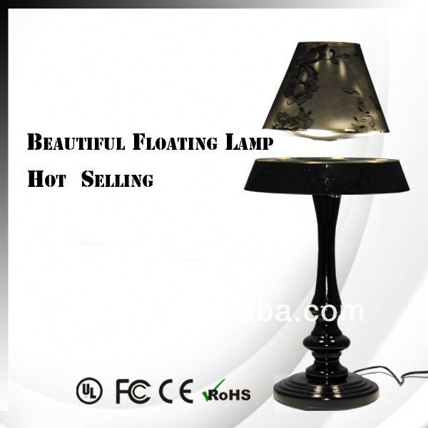 New Invention ! Electromagnetic levitating table light, sunrise wake up light