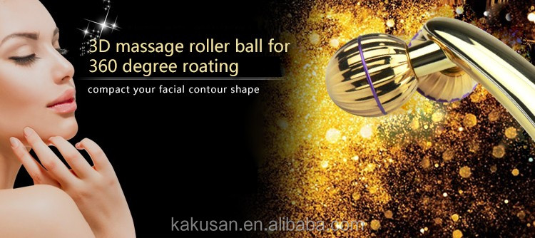 2016 kakusan handheld massage roller face slim and lift Y shaped facial massager