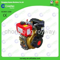 Factory Prices of air cooled single cylinder 2 stroke hot sale 10hp portable diesel engine for sale