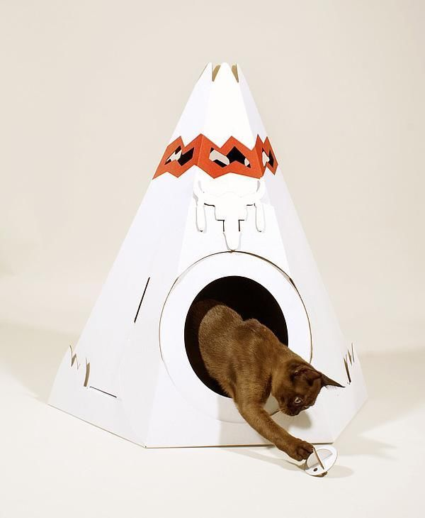 Paper cats houses