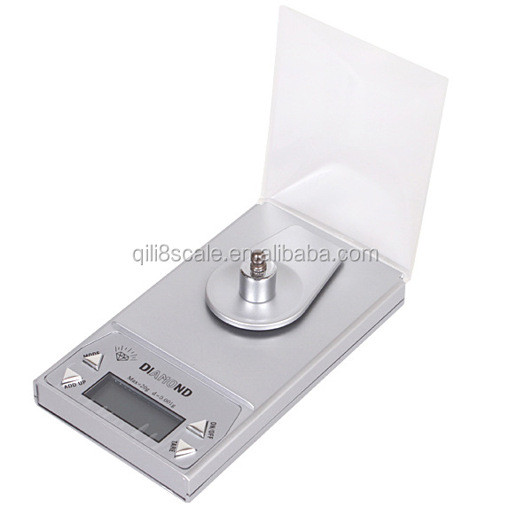 Jewelry scale type high precision 0.001g digital pocket balance scale