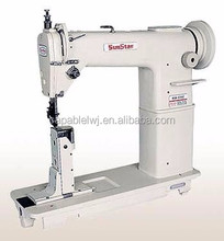 Hot sell new band high speed post bed lock stitch sewing machine