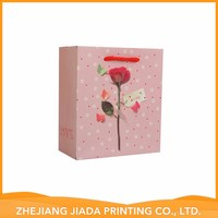 Accept Custom Factory Sale Various Cosmetic Shopping Paper Bag