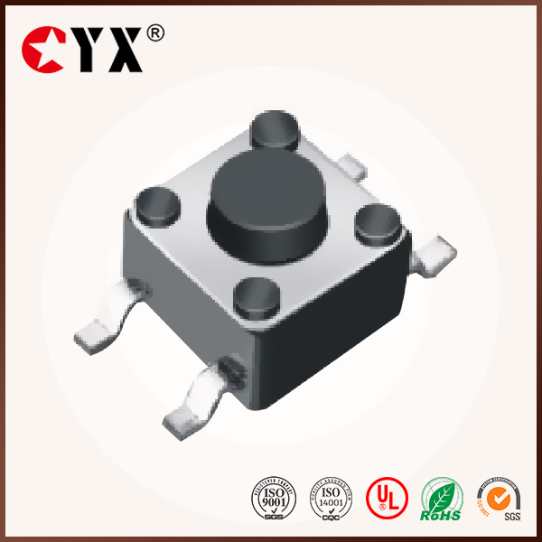6*6 smd tact switches,tactile switch,touch switch