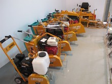 CONMEC TOP Quality Floor Saw,Concrete Cutter with Gasoline Honda Engine