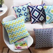 wholesale embroidered cushion covers wooden sofa seat cushion