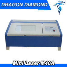 LZ-M40A Desktop 40w Co2 Laser Engraver For Rubber Stamp With Cheap Price