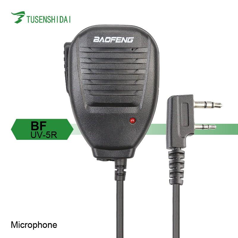 Intercom Speaker Microphone for Walkie Talkie baofeng BF-UV5R