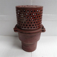 water pump parts 4 inch strainer assy