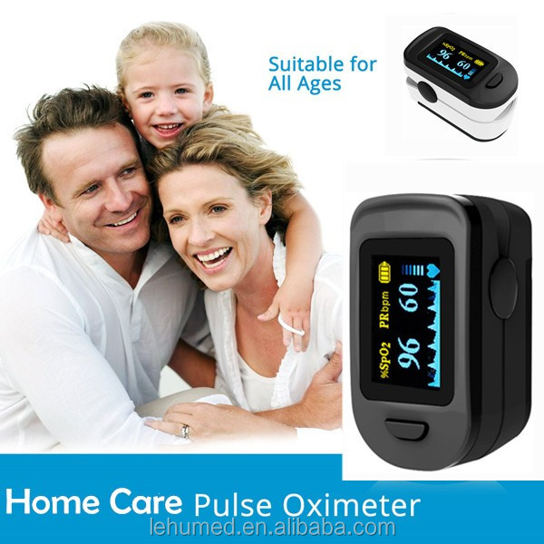 Oximeter Pulse CE FDA- Digital Blood Oxygen and Pulse rate measure with Alarm - Pulse Oximeter SPO2 and PR