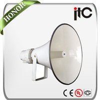 100W Aluminum IPx6 Waterproof Outdoor Horn Speaker for PA