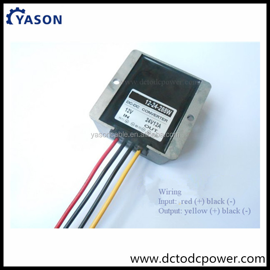 12V Step up to 24V Converter transformer 12V 12V turn 24V12A 24V10A240W boost converter Car