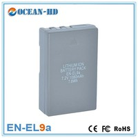 EN-EL9a for Nikon replacement 1080mah 7.2v gp nimh battery