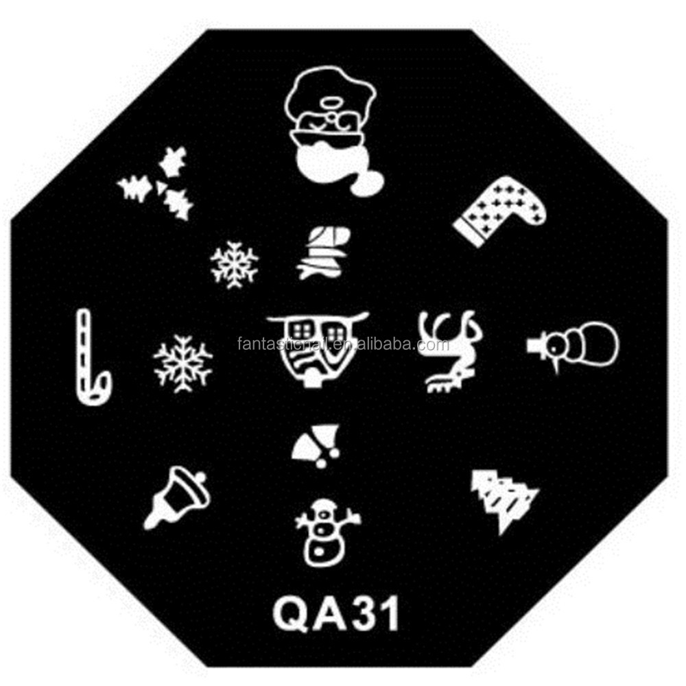 Hot Sale Professional QA Series Nail Art Stamping Plate