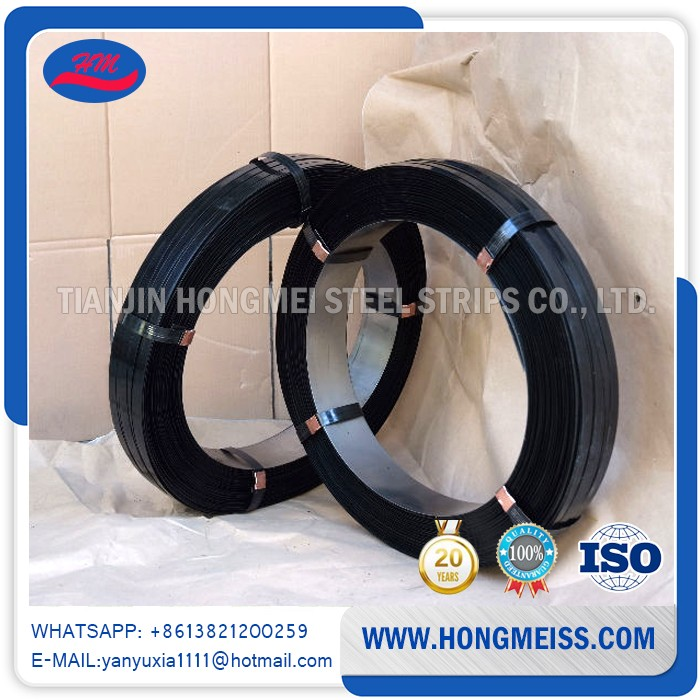 Good quality Cheap Price customized colors painted & waxed metal packaging steel strapping