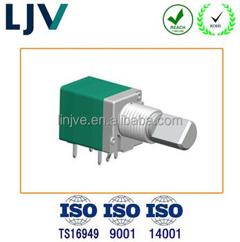 10K rotary linear potentiometer with switch