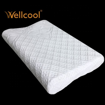 cool flower covering 3d polyester mesh fabric contour pillow