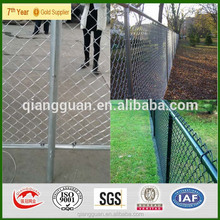 2015 top-rated brown chain link fence Manufactures