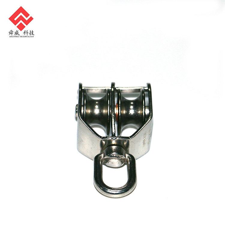 304/316 Weight Lifting Swivel Steel Pulley Wheel