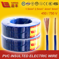IEC60227 Standard 1.5mm 2.5mm 4mm 6mm Cable Factory Price Electrical Wire