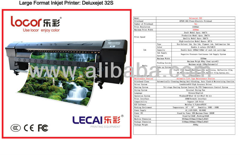 LARGE FORMAT PRINTER/ TARPAULIN PRINTER