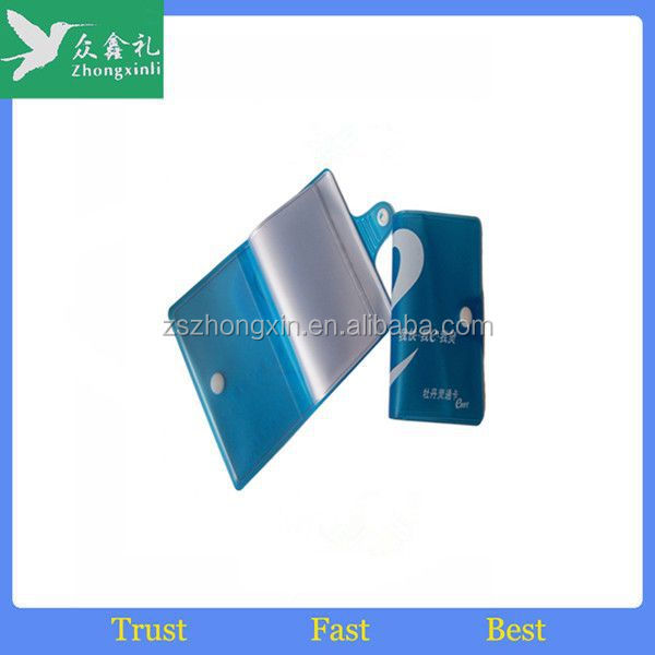 2017 New cartoon PVC ID Card Holder