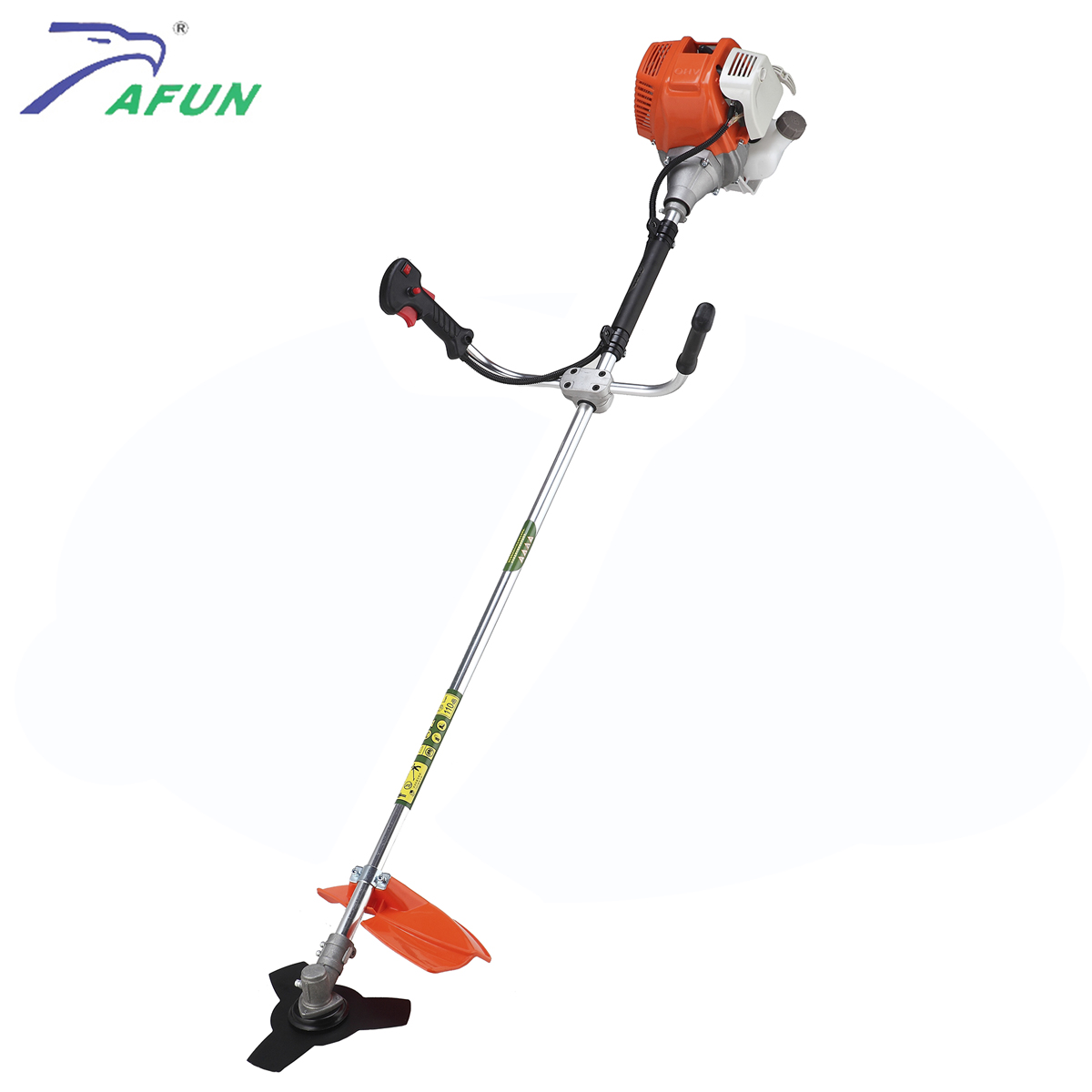 Aluminum working pole petreol powered new grass trimmer