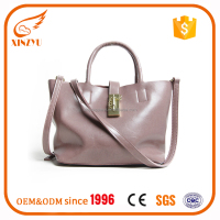 2016 Latest designer genuine leather Europe elegant leather lady handbag factory in GuangZhou