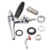 Adjustable Beer Faucet Chrome Plating Homebrew Flow Control Faucet Stout Tap Kit