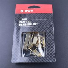 11pcs Manufacturer sale home use super quality blister card good offer picture hanging kit